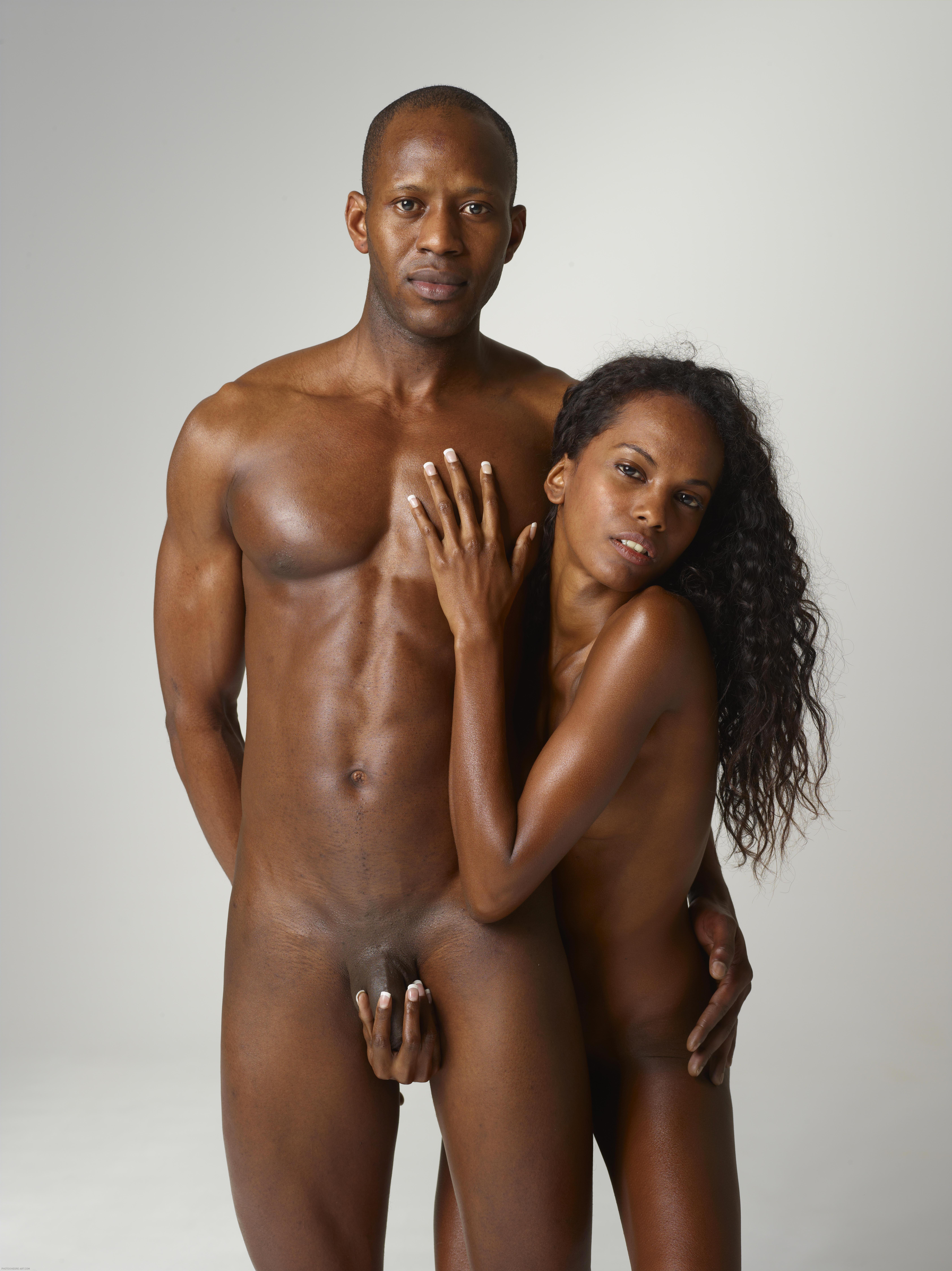 Oiled up black girl nude congratulate, simply
