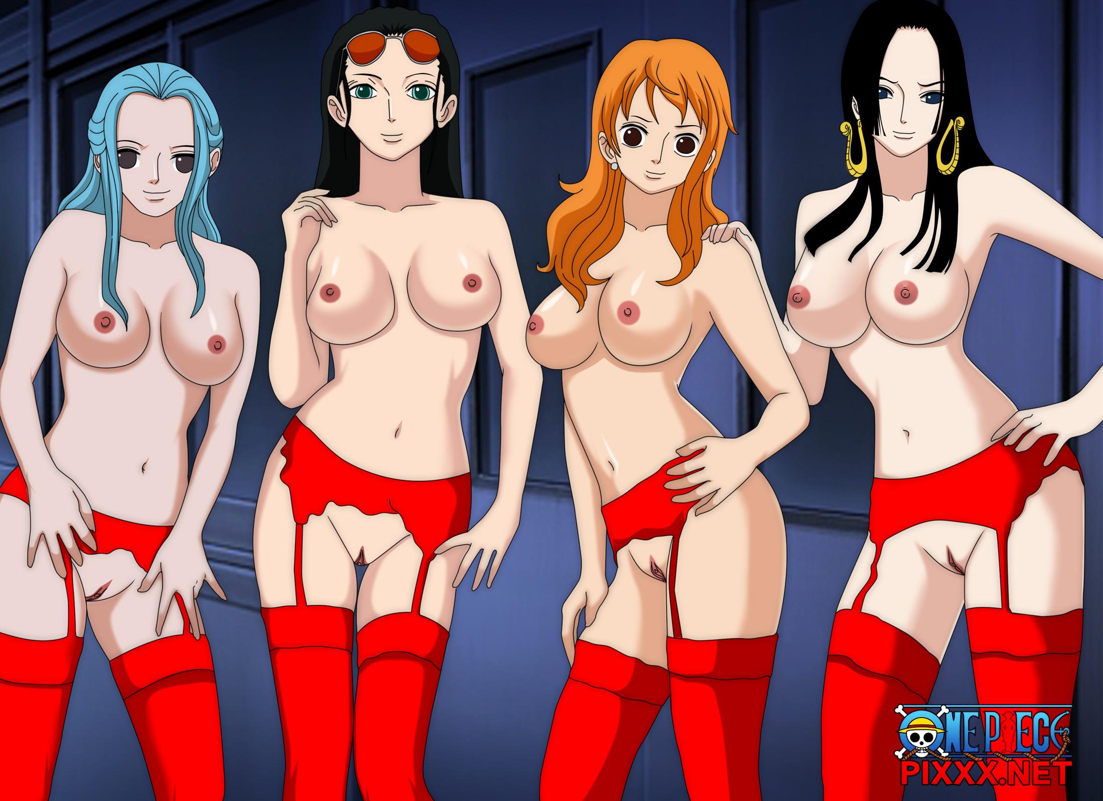 One piece girls nude pron photo