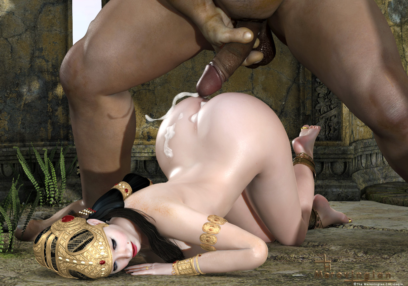 Girl gets fucked by young orcs xxx photo