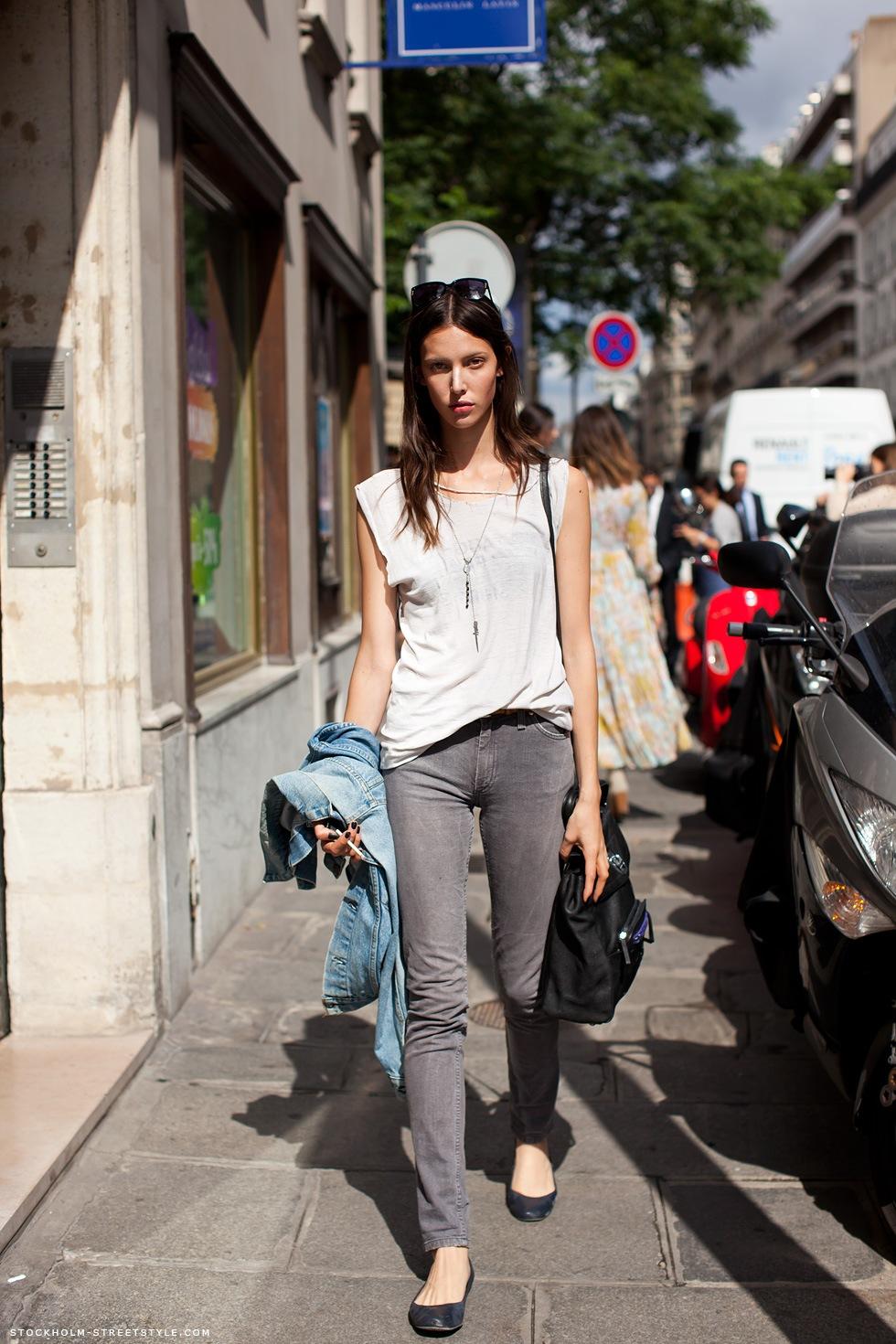 Уличная мода для женщин весна-лето фото: уличный 70