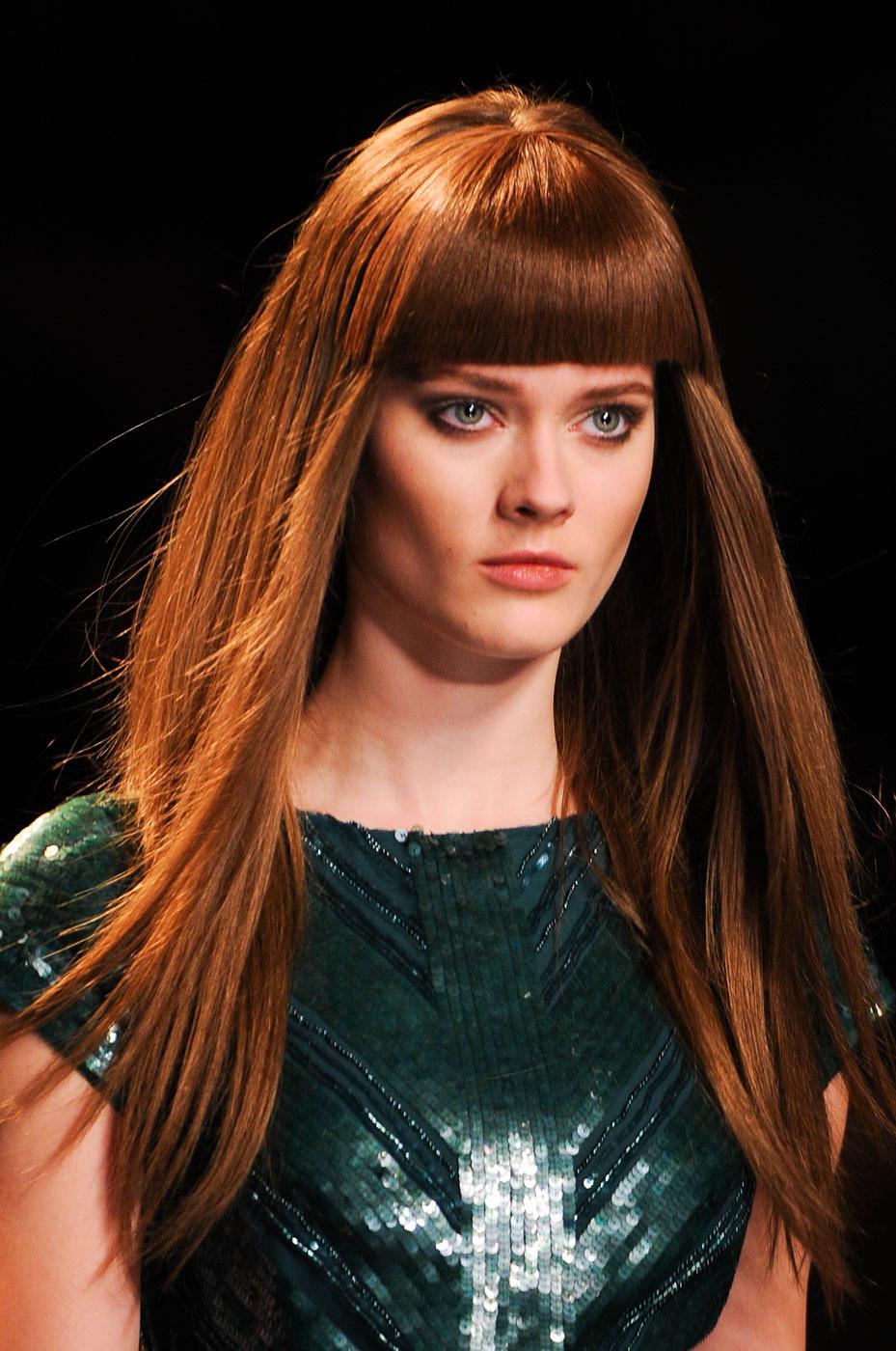 Рыжие холодные цвета волос