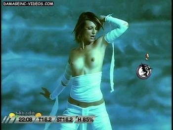 Argentina Celebrity model topless