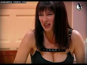 Argentina mil actress massive breasts cleavage