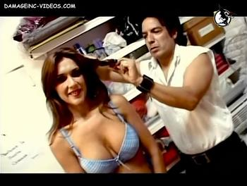 Argentina Model Fernanda Herrera big tits in bra