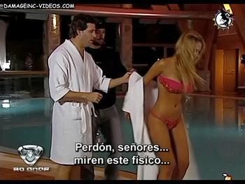 Melina Pitra en bikini