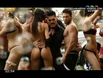 El culo de Maria Paz Delgado en tanga negra