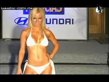 Alejandra Maglietti white bikini