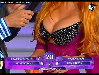 Belen big tits top
