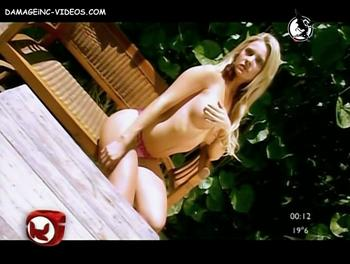 Alejandra Maglietti nude posing