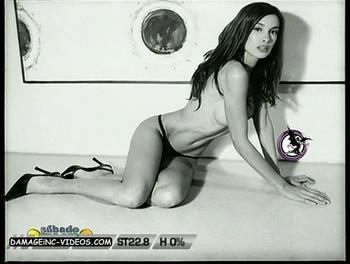 Florencia Gomez Cordoba naked in thong