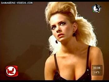 Alejandra Maglietti hot cleavage