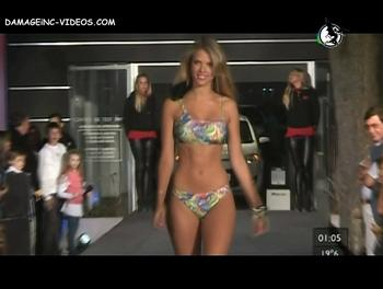 Sol Aguilar bikini model