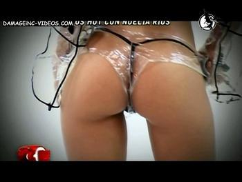 Noelia Rios g-string