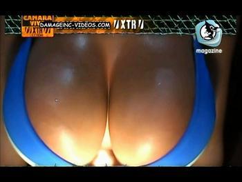 Argentina porno star Anahi huge tits