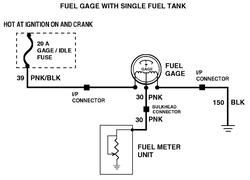 Chevrolet Fuel Gauge Wiring - Machine Repair Manual on