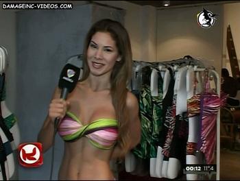 Noelia Rios in bikini